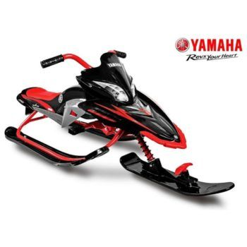 Снегокат Yamaha, лицензионный (мягкое кресло, тормоз, трос, удобные ручки)