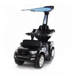 Электромобиль - каталка Ford Ranger Wildtrak (2 в 1, свет фар, музыка, педаль газа)