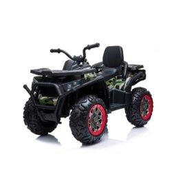 Электроквадроцикл XMX607 Т007МР камуфляж (задний привод, колеса резина, кресло кожа, пульт, музыка)